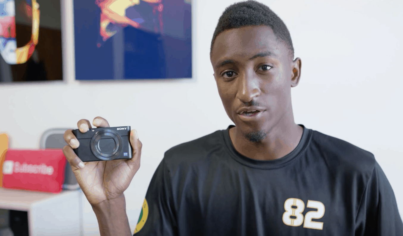What Kind Of Camera Does YouTuber MKBHD/ Marques Brownlee Use?