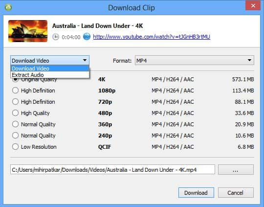 4k video downloader Best Free Youtube Downloaders