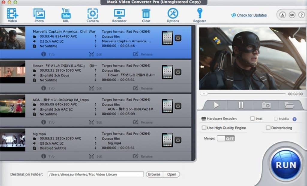 macx video converter